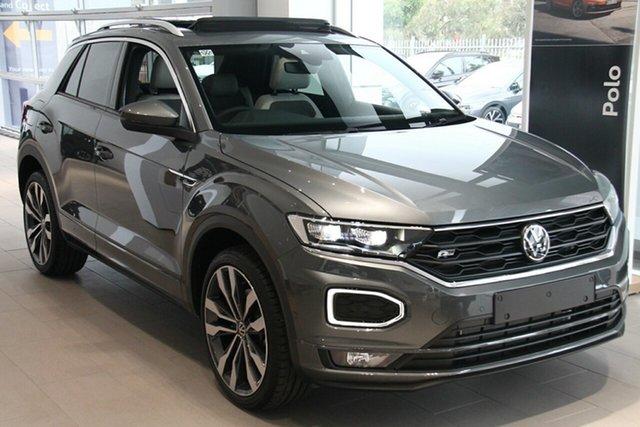 New Volkswagen T-ROC A1 MY21 140TSI DSG 4MOTION Sport Botany, 2021 Volkswagen T-ROC A1 MY21 140TSI DSG 4MOTION Sport Indium Grey 7 Speed