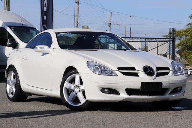 Used Mercedes-Benz SLK-Class R171 MY07 SLK280 Rocklea, 2007 Mercedes-Benz SLK-Class R171 MY07 SLK280 White 7 Speed Automatic Roadster