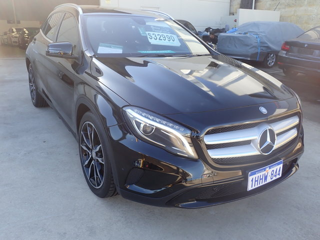 Used Mercedes-Benz GLA X156 MY15 200 CDI Wangara, 2014 Mercedes-Benz GLA X156 MY15 200 CDI Black Magic 7 Speed Auto Dual Clutch Wagon