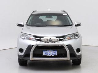 2014 Toyota RAV4 ALA49R GX (4x4) Silver 6 Speed Automatic Wagon.