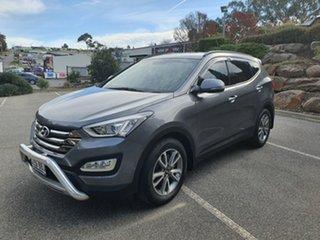 2014 Hyundai Santa Fe DM MY14 Elite Titanium Silver 6 Speed Sports Automatic Wagon.