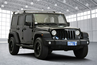 2018 Jeep Wrangler JK MY18 Unlimited Sport Black 5 Speed Automatic Softtop.