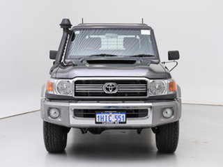2021 Toyota Landcruiser 70 Series VDJ79R GXL Grey 5 Speed Manual Double Cab Chassis.