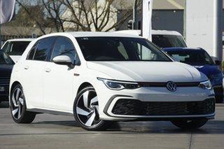 2021 Volkswagen Golf 8 MY21 GTI DSG Pure White 7 Speed Sports Automatic Dual Clutch Hatchback.