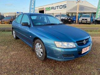 2005 Holden Commodore VZ Executive Blue 4 Speed Automatic Sedan.