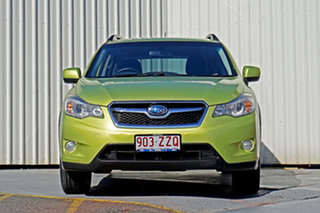 2014 Subaru XV G4X MY14 2.0i Lineartronic AWD Green 6 Speed Constant Variable Wagon.