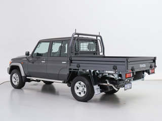 2021 Toyota Landcruiser 70 Series VDJ79R GXL Grey 5 Speed Manual Double Cab Chassis