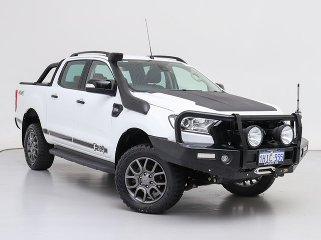 Used Ford Ranger PX MkII MY17 FX4 Special Edition, 2017 Ford Ranger PX MkII MY17 FX4 Special Edition White 6 Speed Automatic Double Cab Pick Up