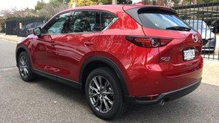 2021 Mazda CX-5 KF4WLA Akera SKYACTIV-Drive i-ACTIV AWD Soul Red 6 Speed Sports Automatic Wagon.