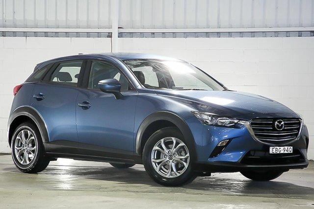 Used Mazda CX-3 DK2W7A Maxx SKYACTIV-Drive FWD Sport West Gosford, 2019 Mazda CX-3 DK2W7A Maxx SKYACTIV-Drive FWD Sport Blue 6 Speed Sports Automatic Wagon