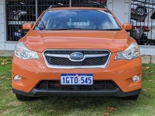2013 Subaru XV G4X MY13 2.0i Lineartronic AWD Orange 6 Speed Constant Variable Wagon.