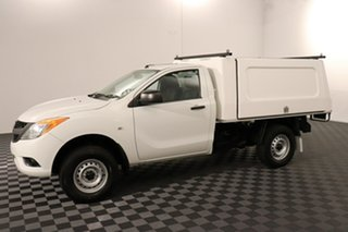 2015 Mazda BT-50 UP0YD1 XT 4x2 Hi-Rider White 6 speed Automatic Cab Chassis