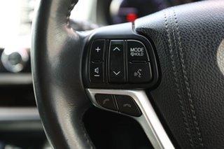 2018 Toyota Kluger GSU55R GXL AWD Black 8 Speed Sports Automatic Wagon