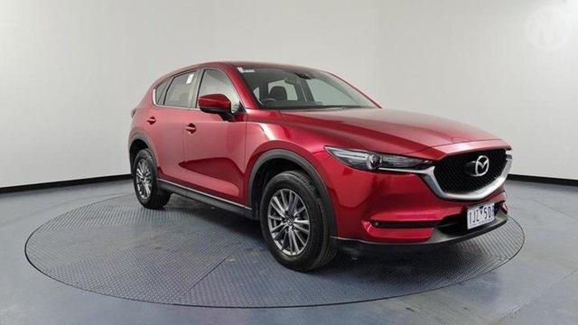 Used Mazda CX-5 MY17 Maxx Sport (4x2) Altona North, 2017 Mazda CX-5 MY17 Maxx Sport (4x2) Red 6 Speed Automatic Wagon