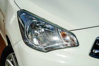 2014 Mitsubishi Mirage LA MY15 LS White 1 Speed Constant Variable Sedan