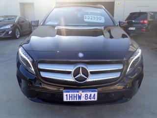 2014 Mercedes-Benz GLA X156 MY15 200 CDI Black Magic 7 Speed Auto Dual Clutch Wagon.