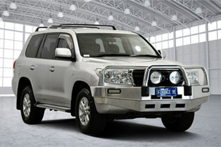 2010 Toyota Landcruiser UZJ200R MY10 GXL Silver 5 Speed Sports Automatic Wagon.
