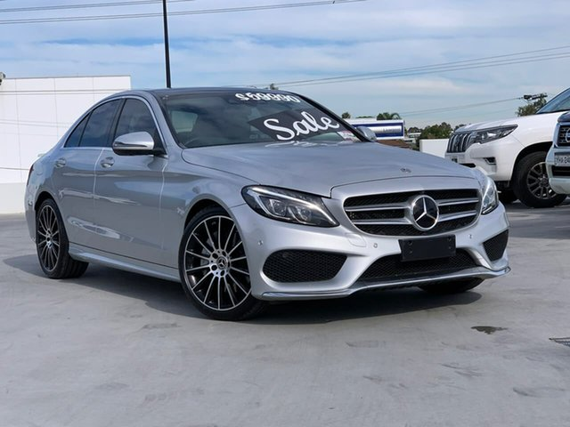 Used Mercedes-Benz C-Class W205 807+057MY C250 d 9G-Tronic Liverpool, 2017 Mercedes-Benz C-Class W205 807+057MY C250 d 9G-Tronic Silver 9 Speed Sports Automatic Sedan