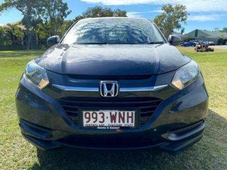2016 Honda HR-V MY16 VTi Ruse Black 1 Speed Constant Variable Hatchback.