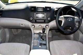 2008 Toyota Kluger GSU40R KX-R 2WD Blue 5 Speed Sports Automatic Wagon.