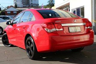 2013 Holden Cruze JH Series II MY13 CD Red 6 Speed Sports Automatic Sedan.