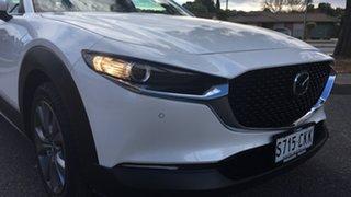 2021 Mazda CX-30 DM2WLA G25 SKYACTIV-Drive Touring White Pearl 6 Speed Sports Automatic Wagon.