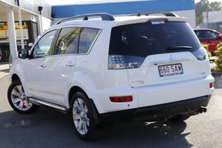 2011 Mitsubishi Outlander ZH MY12 VR-X White Solid 6 Speed Sports Automatic Wagon.