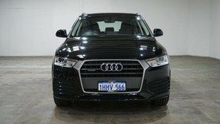 2017 Audi Q3 8U MY18 TFSI S Tronic Quattro Sport Black 7 Speed Sports Automatic Dual Clutch Wagon