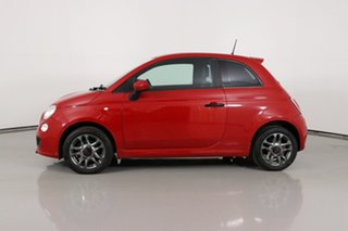 2013 Fiat 500 MY13 Sport Red 5 Speed Automatic Hatchback