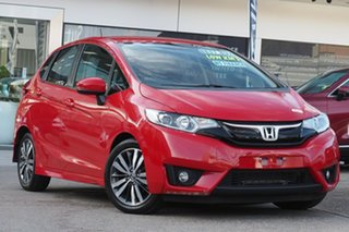 2016 Honda Jazz GF MY17 VTi-S Red 1 Speed Constant Variable Hatchback.