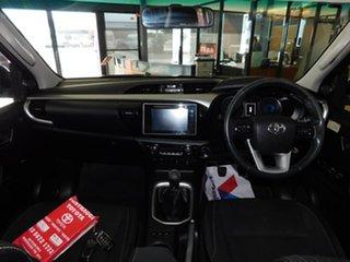 2015 Toyota Hilux GUN126R SR5 Double Cab Grey 6 Speed Manual Utility