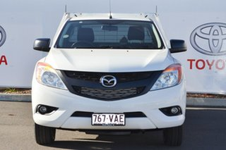 2011 Mazda BT-50 XT (4x2) White 6 Speed Manual Cab Chassis.