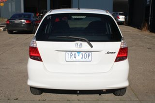 2006 Honda Jazz Upgrade VTi White 7 Speed CVT Auto Sequential Hatchback
