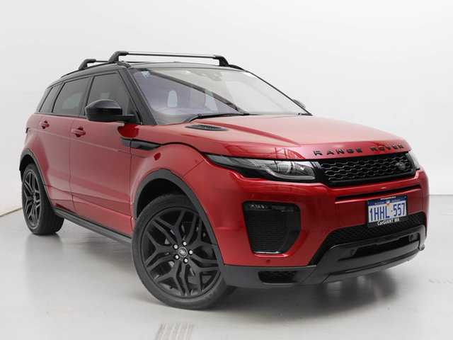 Used Land Rover Range Rover Evoque LV MY16 TD4 180 HSE Dynamic, 2016 Land Rover Range Rover Evoque LV MY16 TD4 180 HSE Dynamic Firenze Red 9 Speed Automatic Wagon