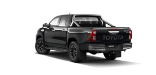 2021 Toyota Hilux GUN136R SR5 Double Cab 4x2 Hi-Rider Eclipse Black 6 Speed Sports Automatic Utility