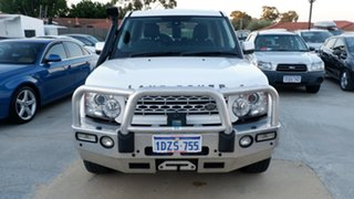 2013 Land Rover Discovery 4 Series 4 L319 MY13 TDV6 White 8 Speed Sports Automatic Wagon.