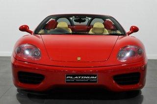 2003 Ferrari 360 Spider F1 Red 6 Speed Seq Manual Auto-Clutch Convertible.