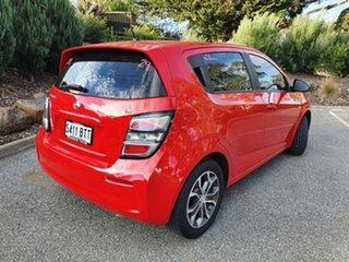 2017 Holden Barina TM MY17 LS Red 5 Speed Manual Hatchback.