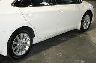 2017 Toyota Camry AVV50R Atara S White 1 Speed Constant Variable Sedan Hybrid