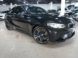 2016 BMW M2 F87 D-CT Black 7 Speed Sports Automatic Dual Clutch Coupe.