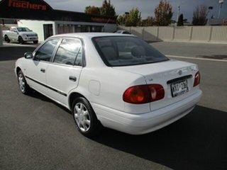 2001 Toyota Corolla AE112R Ascent 4 Speed Automatic Sedan.