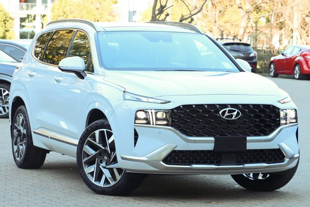 New Hyundai Santa Fe Tm.v3 MY21 Highlander MPI (2WD) Wangaratta, 2021 Hyundai Santa Fe Tm.v3 MY21 Highlander MPI (2WD) Magnetic Force 8 Speed Automatic Wagon