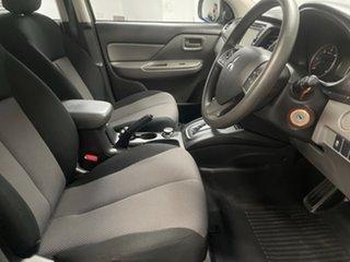2017 Mitsubishi Triton MQ MY17 GLX Double Cab Grey 5 Speed Sports Automatic Utility
