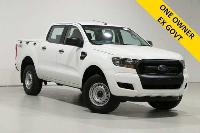 Used Ford Ranger PX MkII XL 3.2 (4x4) Bentley, 2016 Ford Ranger PX MkII XL 3.2 (4x4) White 6 Speed Automatic Crew Cab Utility