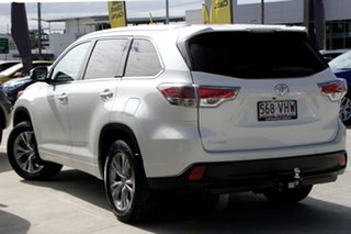 2014 Toyota Kluger GSU50R GXL 2WD White 6 Speed Sports Automatic Wagon.
