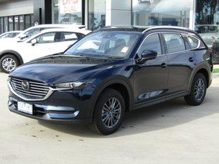 2020 Mazda CX-8 KG2WLA Sport SKYACTIV-Drive FWD Deep Crystal Blue 6 Speed Sports Automatic Wagon