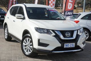 2018 Nissan X-Trail T32 Series II ST X-tronic 2WD White 7 Speed Constant Variable Wagon.