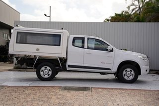 2014 Holden Colorado RG MY14 LX Space Cab White 6 Speed Manual Cab Chassis.