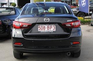 2018 Mazda 2 DL2SAA GT SKYACTIV-Drive Black 6 Speed Sports Automatic Sedan