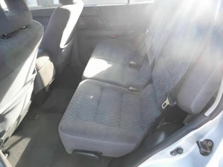2004 Mitsubishi Pajero NP GLX Silver 5 Speed Automatic Wagon